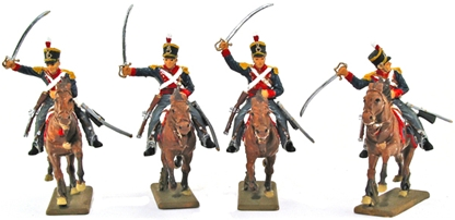 British Light Cavalry 1815 - fully painted