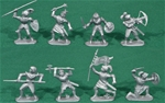 Dismounted Knights - 8 in 6 poses
