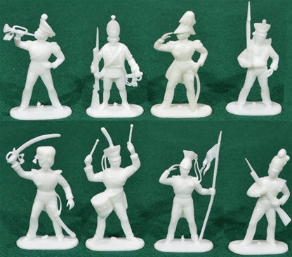 Napoleonic Prussian Infantry - 8 in 5 poses