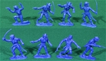 Dismounted U.S. Cavalry - 8 in 4 poses