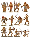 Ancient Egyptians - Basic painted