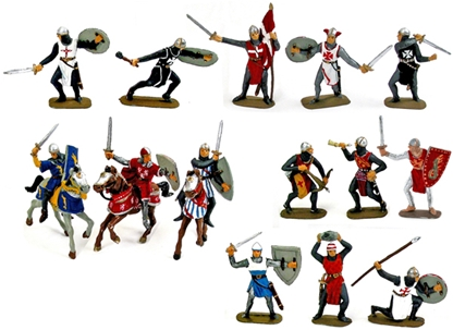 Normans/Crusaders - Fully painted