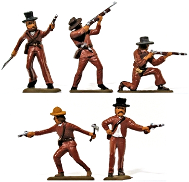 Alamo Texans -- Basic paint job
