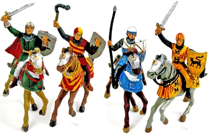 Mounted El Cid Knights - Fully painted