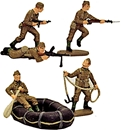 WWII British Commandos - Fully painted