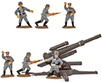 WWII German Artillerymen - Painted Animated