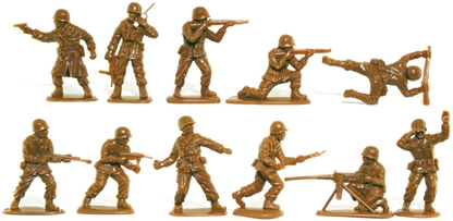 WWII American Infantry - retired tan color
