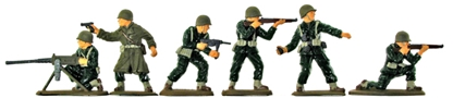 WWII American Infantry - basic painted