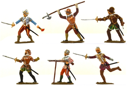 Conquistadors - Fully painted