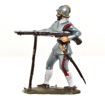 Conquistadors - Basic paint job