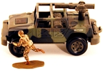 Modern Jeep with TOW Missile - only 2 in stock