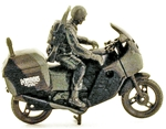 Modern Motorcycle and Rider - i in stock