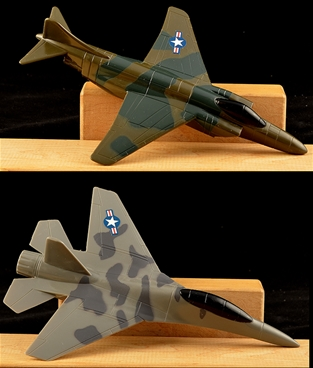 Painted Modern U.S. Fighter Planes - 25mm