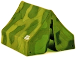 Camouflaged Tent - only 4 left