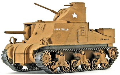 WWII U.S. M3 Medium Lee Tank 'Lulu Belle'