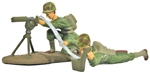 WW II Pacific U.S. Machine Gun - Basic Paint