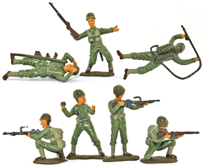 WW II U.S. Infantry - Basic painted version