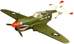 WWII Curtis P-40 F (with 'shark teeth' decoration)