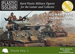 15mm WWII M4A3 (Late) Sherman Tanks