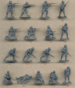 15mm Late WWII US Infantry 1944-45