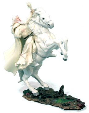 Gandalf the White on Shadowfax
