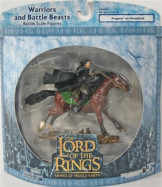Aragorn on Horseback - mint on card
