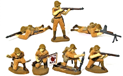 Japanese Infantry - Basic paint job