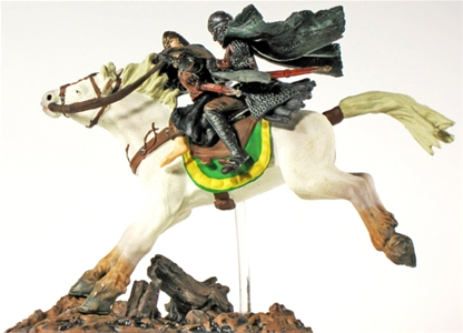 Eowyn and Merry on Horseback - pre-owned