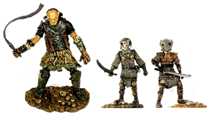 Orc Captain and Sam and Frodo - pre-owned set