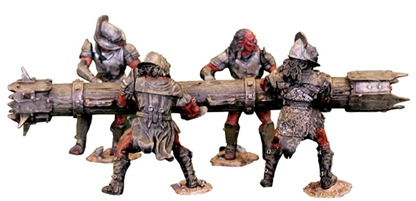 Uruk Hai Battering Ram - complete pre-owned set