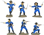 United States Cavalry set 1 - basic painted