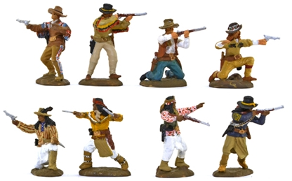 US Cavalry and Scouts - full paint - on campaign