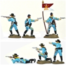 United States Cavalry set 2 - basic painted