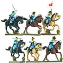 Mounted U.S. Cavalry - basic painted