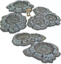 Shell Crater Set - Painted