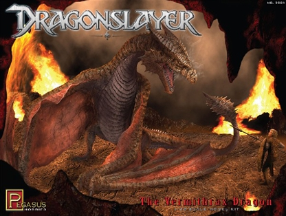 Vermithrax -Dragon from the film 'Dragonslayer'