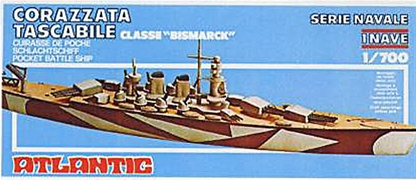 The Bismarck - Pocket Battleship