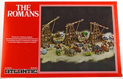 Roman War Machines and Catapults