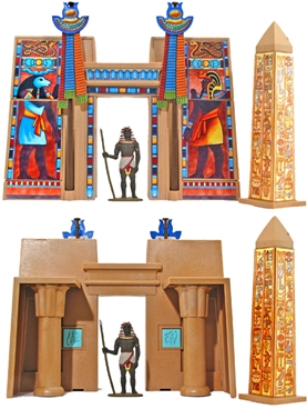 Pharaoh's Temple and Obelisk - out of production