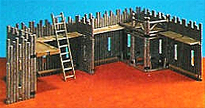 Western Stockade Fort Extension Set