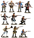 U.S. Militia - 1776 Set #1 - Fully painted