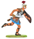 Roman Legionary Running with Sword and Shield
