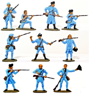 U.S. Militia - 1776 Set #1 - Basic paint job