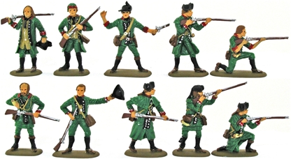 Green Mountain Boys Set #1 - Basic paint - 2 left!