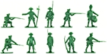 British Infantry - 1776 Set #1