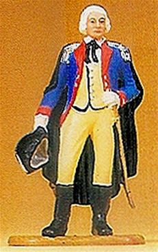 Prussian Officer In Cape with Sword