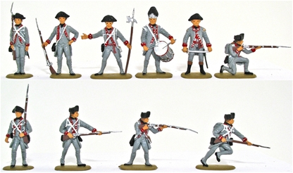 1776 American State Troops - Basic Paint Job