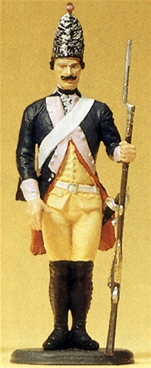 Prussian on Guard with Musket