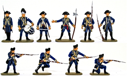 1776 American Infantry - Basic Paint Job