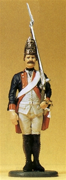 Prussian at Attention with Musket